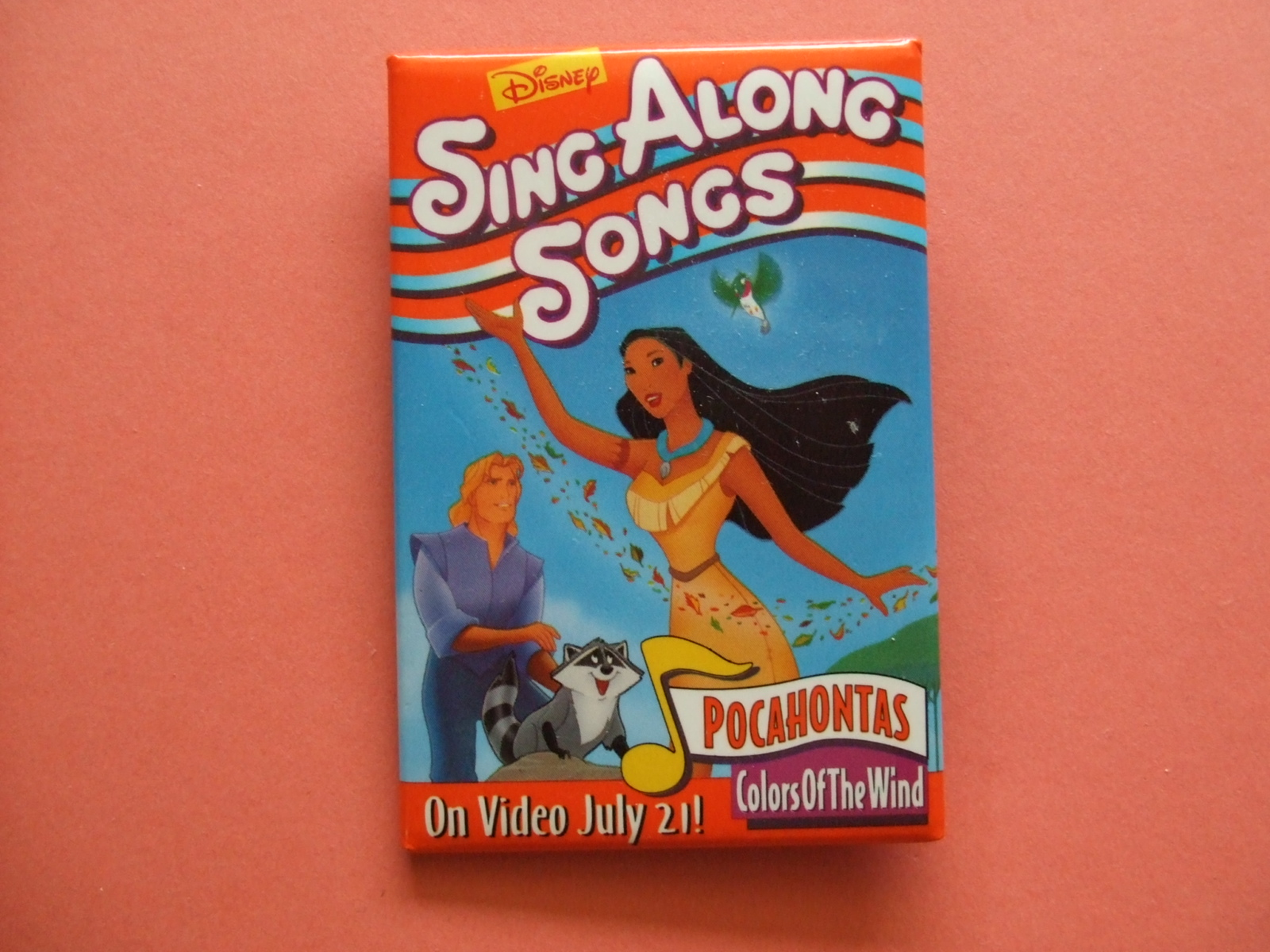 disney sing along songs pocahontas colors of the wind